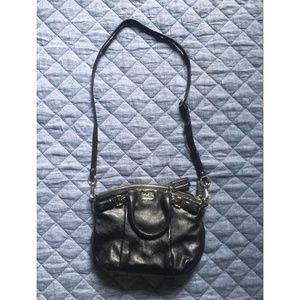 Coach Bags - Black Leather Crossbody Bag - COACH